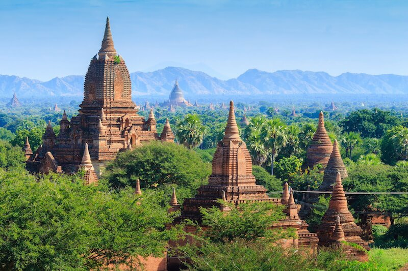 Visit the mysterious temple-laden landscape of Bagan in Myanmar on a luxury river cruise.