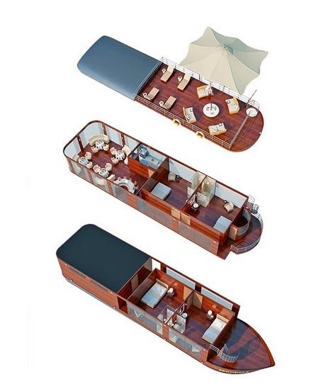 Spondias Cruise Deck Plan