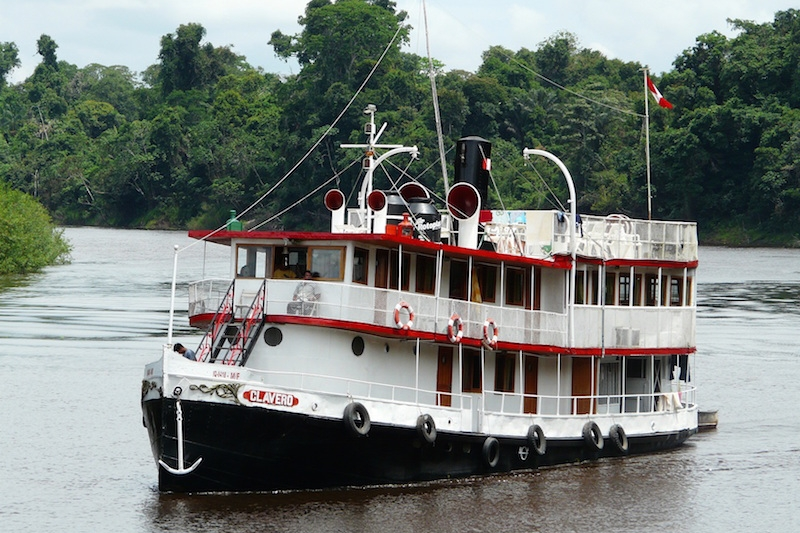 clavero amazon cruise