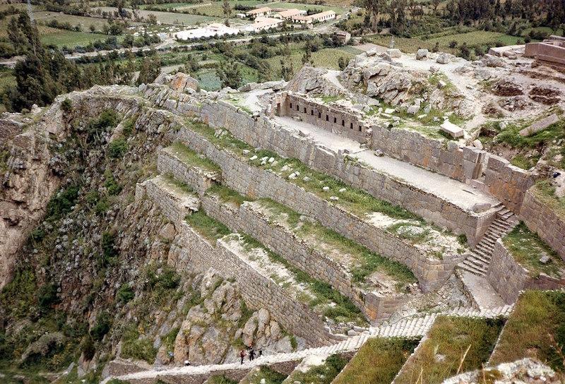 Ruins in Ollantaytambo