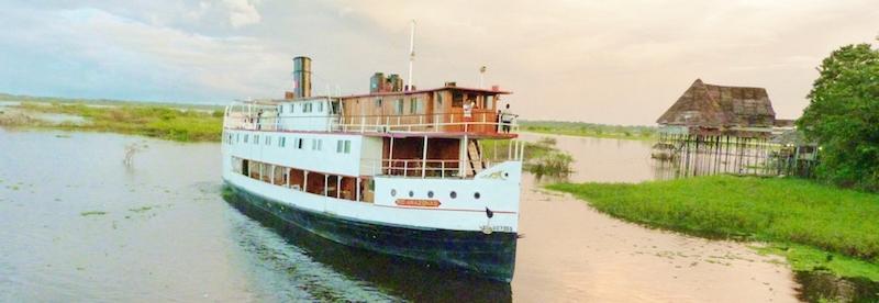 rio amazonas cruise itinerary
