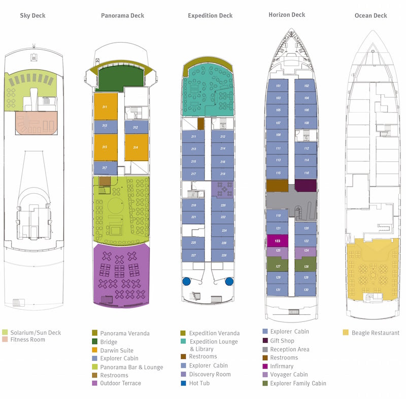 Santa Cruz Deck Plan