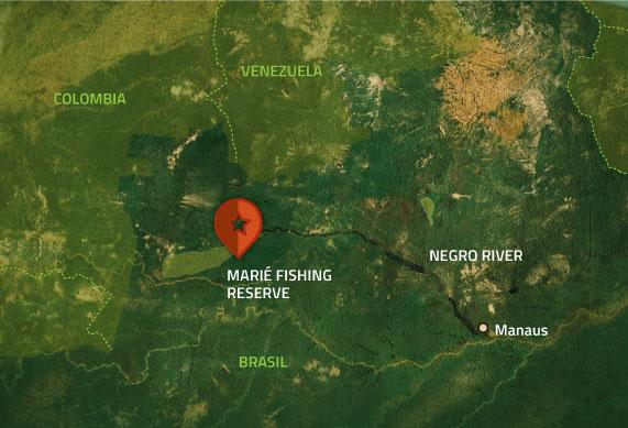Untamed Amazon Itinerary Map