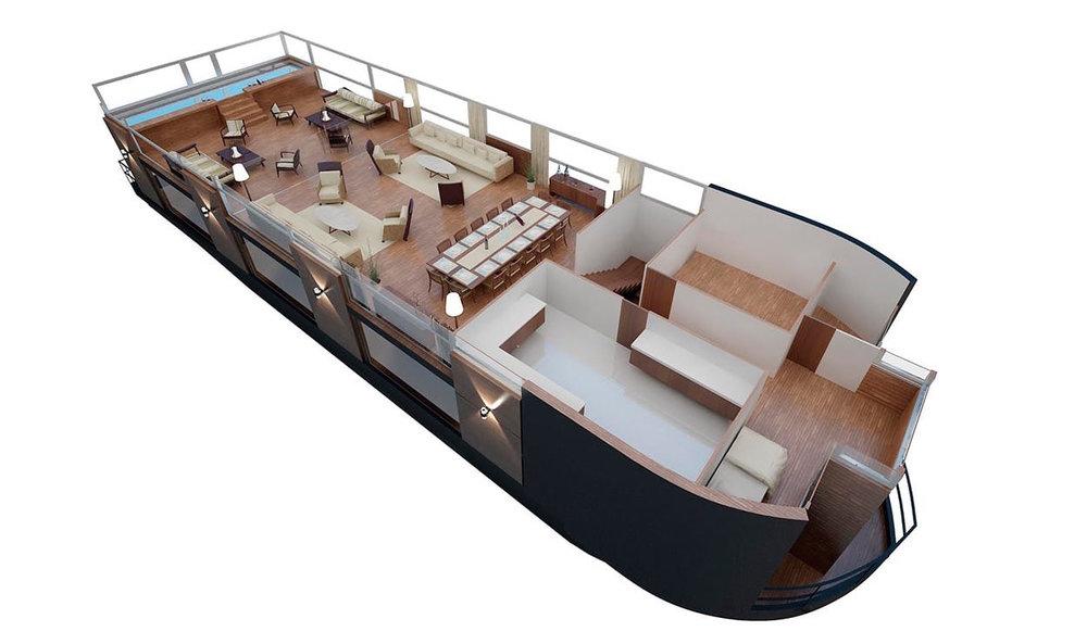 Amazon Cruise Deck Plan