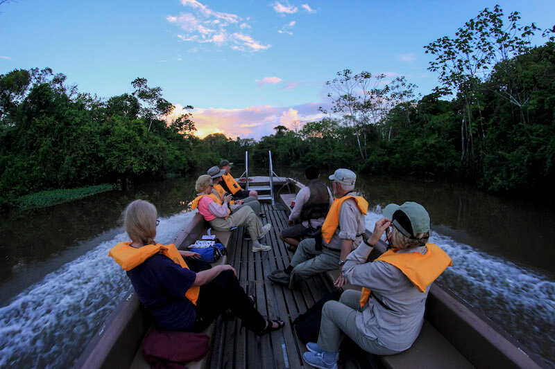 What will you be doing this new year? Why not celebrate with an Amazon adventure aboard the Perla...