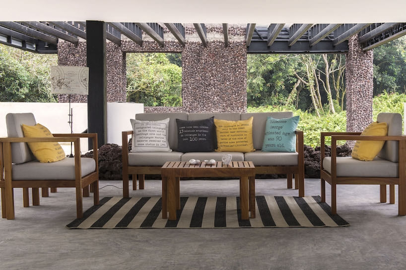 Scalesia Lodge Sitting Area