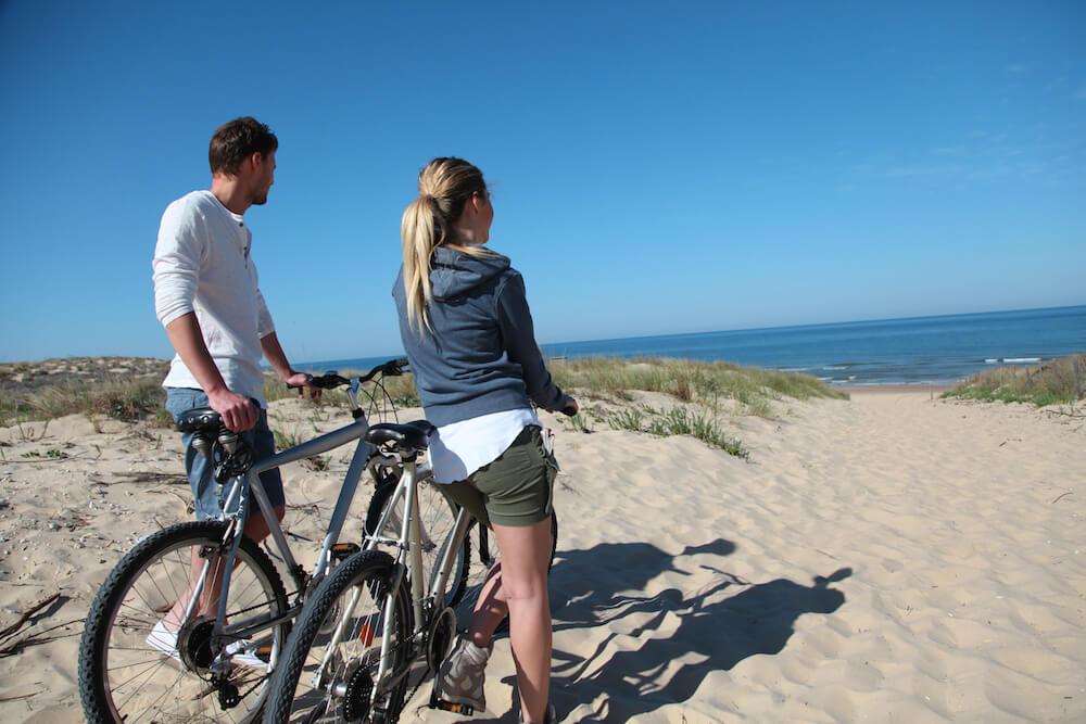 Biking on Isabela Island