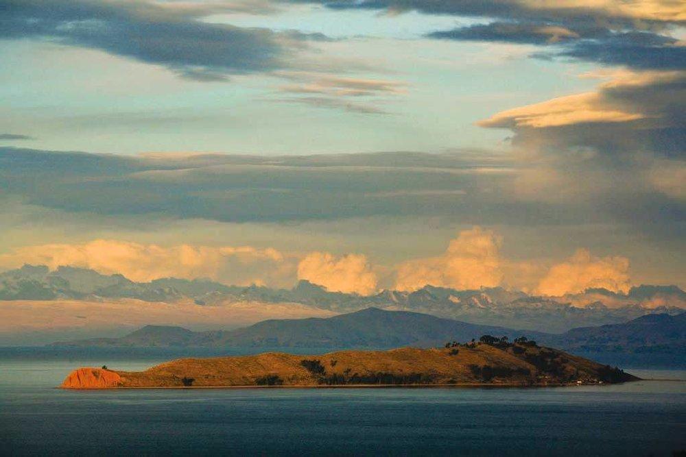 Lake Titicaca Island