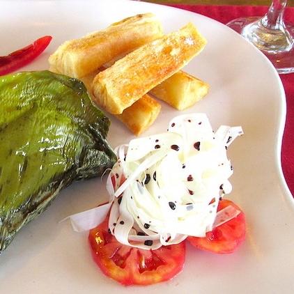 Vegetarian Food in the Amazon