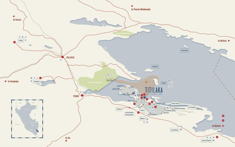 titilaka lodge map