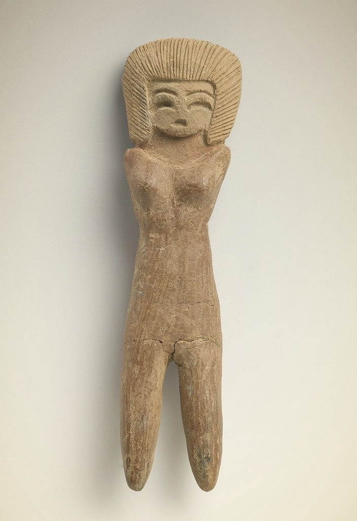 Valdivia Female Figurine (2600-1500 BCE), Brooklyn Museum