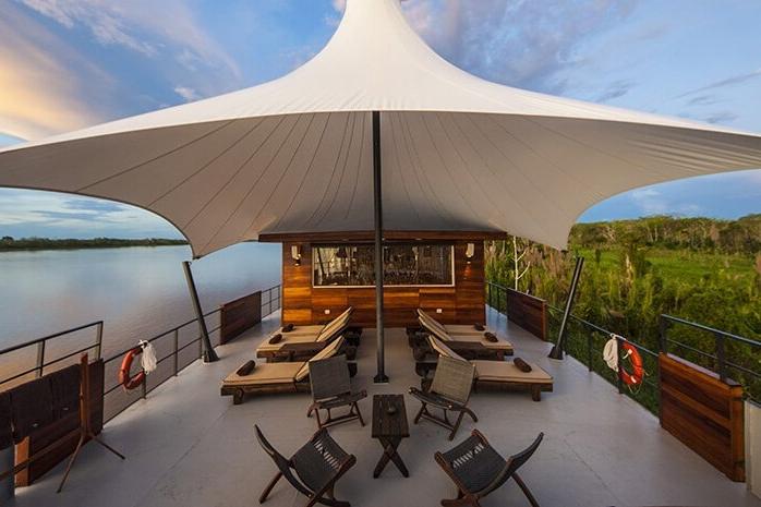 Aria Amazon Cruise Sun Deck