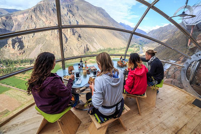 Peru Skylodge