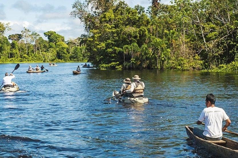 Kayaking Aria Amazon