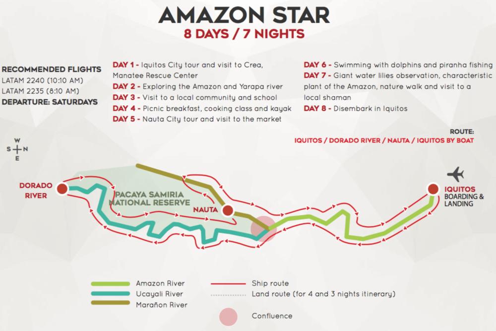 Amazon Star 8 Day Cruise