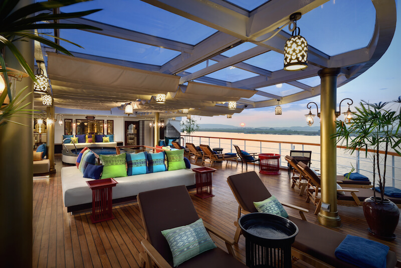 The beautifully luxurious Sanctuary Ananda river vessel has some fantastic offers.