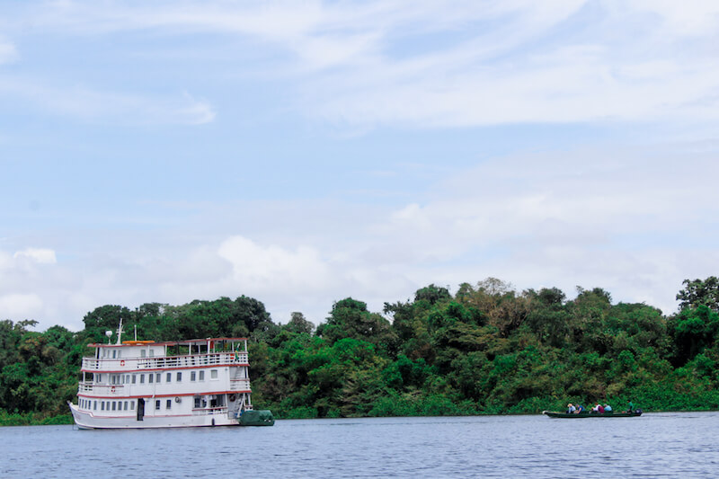 Cruising Amazon River