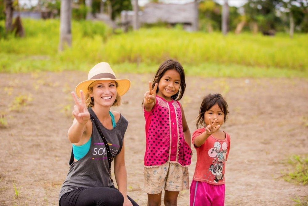 Amazon Village Visit