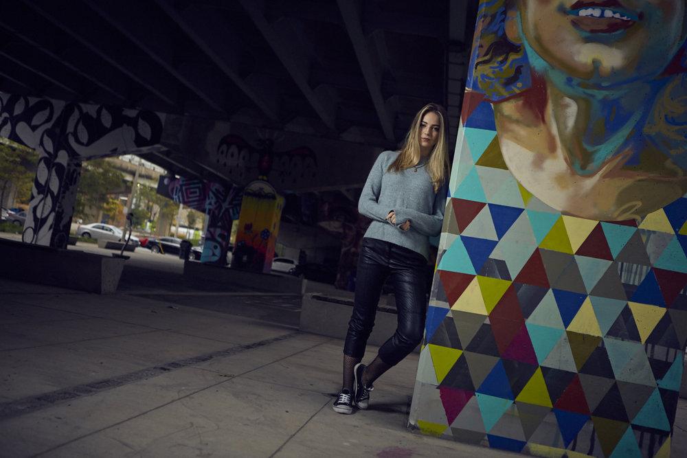 Underpass Park, Toronto, Ontario -Portrait Session