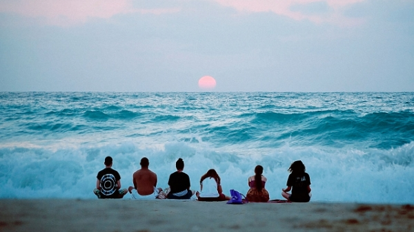 Support one another.  Meditate with friends.
