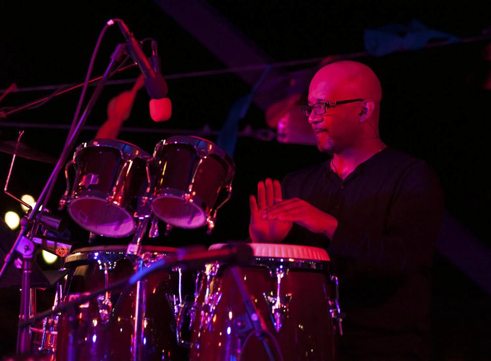 Esteban Arrufat, Latin percussion (Puerto Rico)