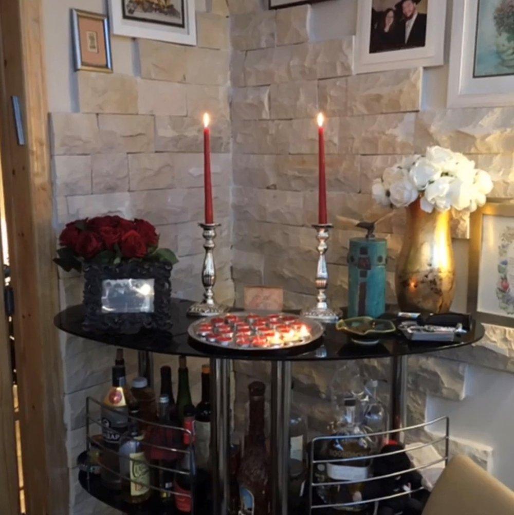 Shabbat Candles on Bar.jpg