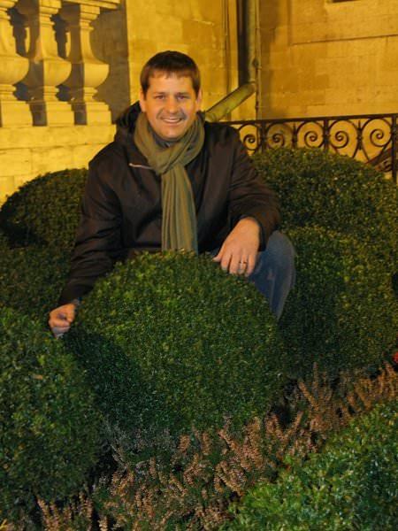 Justin Stelter, Landscape Gardener La Grand Place, Brussels, Belgium