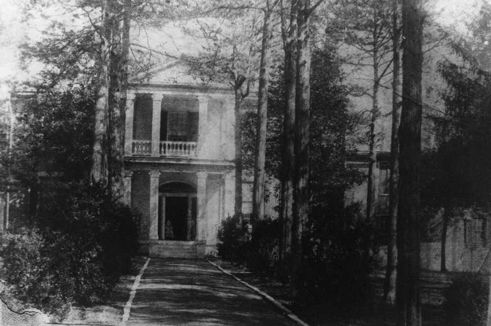 Earliest known image of house c.1880.