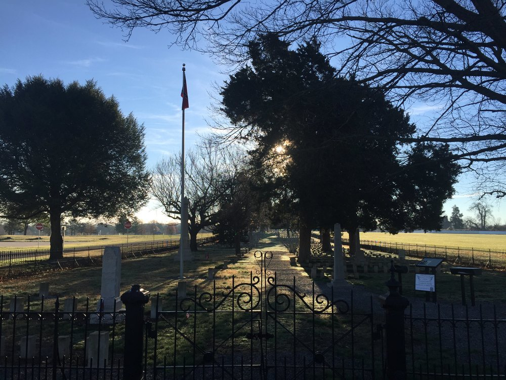 McGavock Confederate Cemetery. Photo by Annabelle Rose Stelter April 2015.