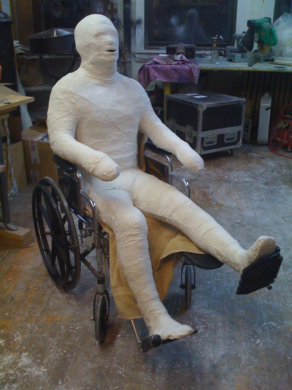 NY Lottery Body Cast