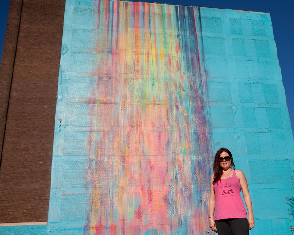 Artistic wall - Detroit