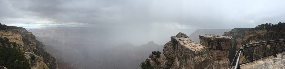 Misty Grand Canyon