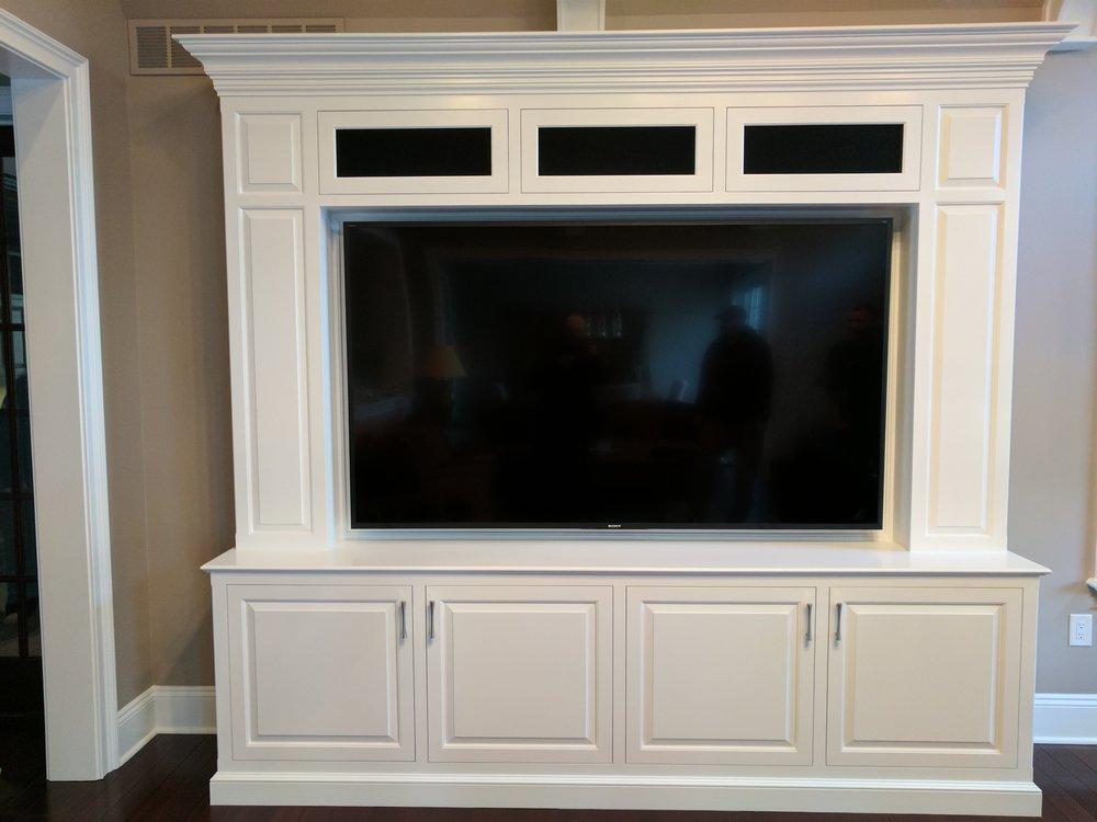 TV in Custom Built-In