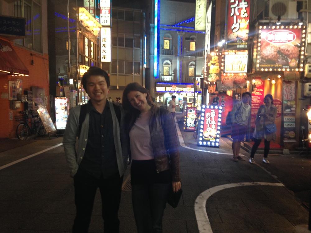 Bright lights big city, Tokyo