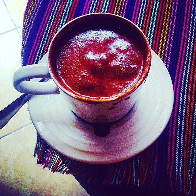 Xocolatte! An authentic hot chocolate high in the mountains of San Cristobel de las casas - now I'm feeling xmassy :) - disappointed to discover the Burger King and holiday inn here this time round but this hot chocolate makes up for it :) #wanderwomenclub #wanderwomen #wander #wanderer #wanderlust #wandering #travel #traveller #travelblog  #travellife #travelling #travelgram #travelpics  #travelphoto #travelingram #travelblogger #traveltheworld #travelphotography #backpackerlife #explore  #instadaily  #mexico