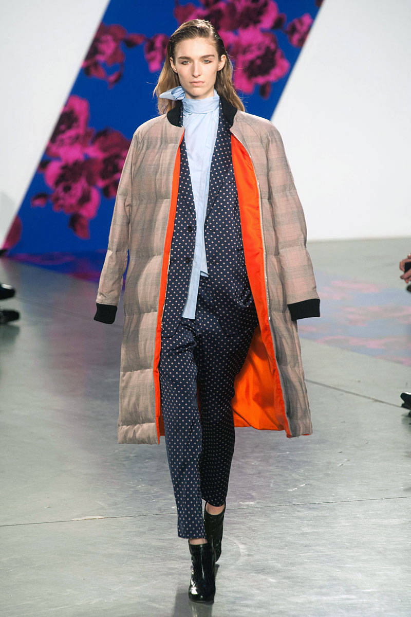 Thakoon (matching sets, long coat and turtleneck)
