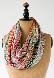 Angelica Infinity Scarf.  Made in Guatemala.