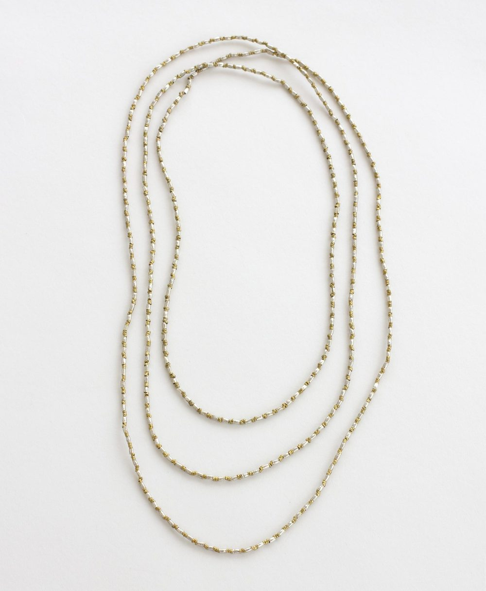 Bethe rope necklace.  Made in Ethiopia.