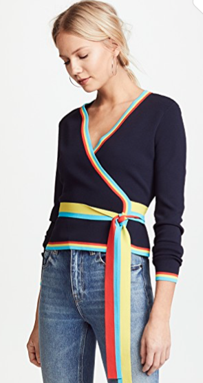 DVF Wrap cardigan