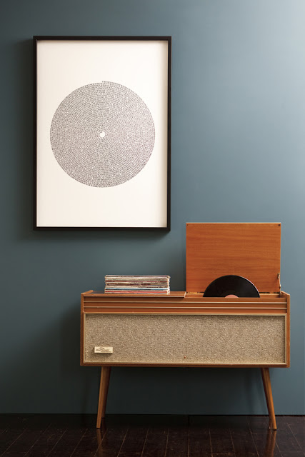 WALL of SOUND - Black Vinyl | Limited Edition Print by Marika Järv