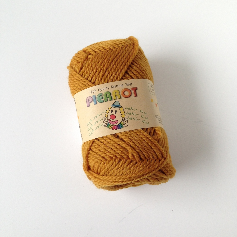 From the online distributor. I bought three balls of this yarn which I will use to knit an updated version of the Honey Comb Cowl.