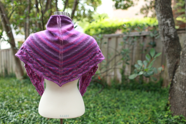 Lovely Leaves Shawl