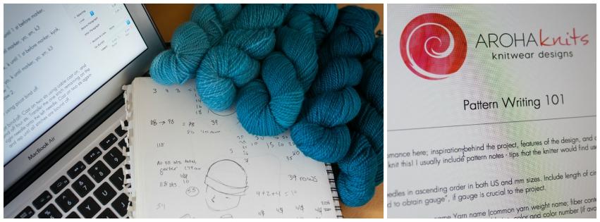 Knitting 101 How To Write A Pattern Or How I Write Mine Aroha Knits