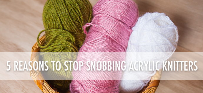 "578f65c748dc ""As long as there has been knitting there have been battles about it. There  are self-declared ""yarn snobs"