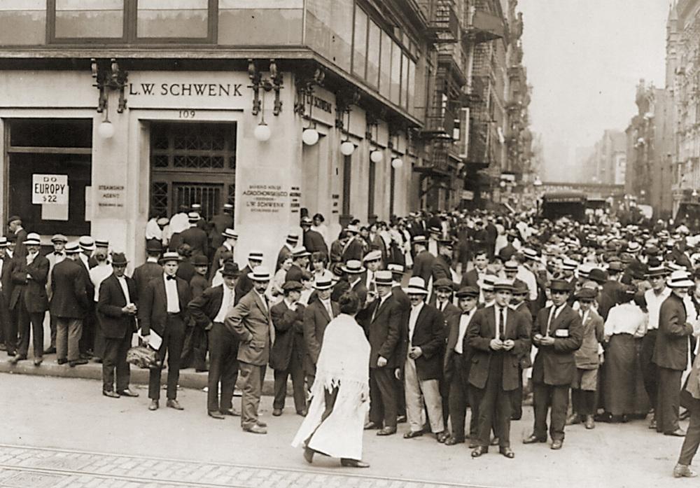 "Bankrutavęs ""L. W. Schwenk"" bankas, JAV, 1914 m."