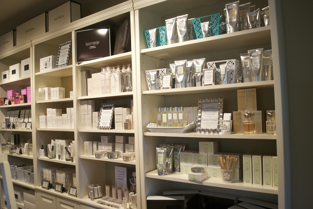 Trish McEvoy and Laura Mercier Perfume, Bath, and Body Collection