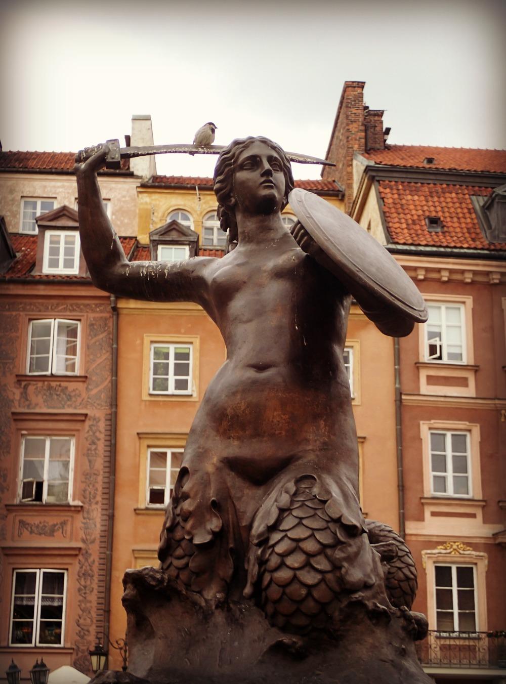 Statue of the Syrenka (Mermaid)