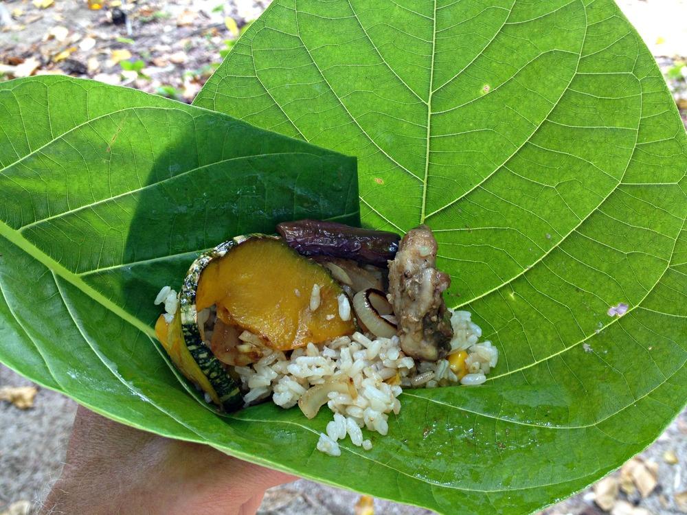 Banana Leaf Food