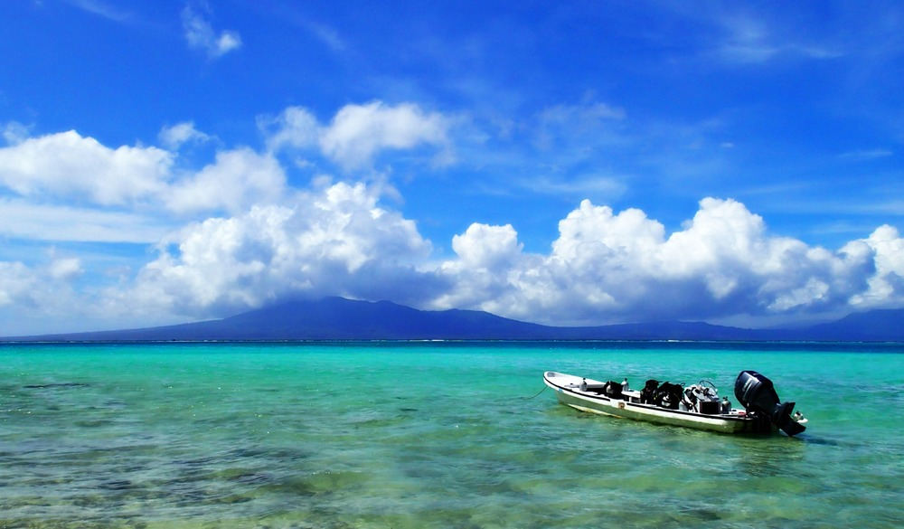 Scuba diving South Pacific