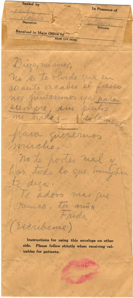 kahlo love letter